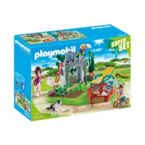 PLAYMOBIL Country SuperSet familietuin 70010