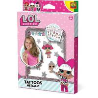 SES Creative L.O.L. Surprise! tattoos metallic