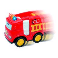 Op afstand bestuurbare brandweerauto