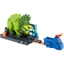 Hot Wheels City Triceratops speelset