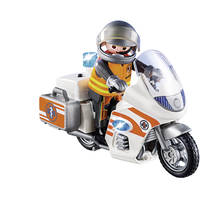 PLAYMOBIL 70051 EMERGENCY MOTORBIKE