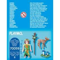 PLAYMOBIL 70059 NIMF EN HERTENKALF