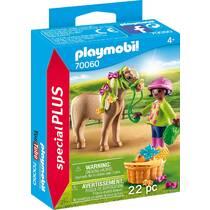 PLAYMOBIL SpecialPLUS meisje met pony 70060