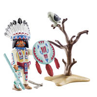 PLAYMOBIL 70062 NATIVE AMERICAN CHIEF