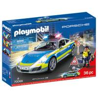 PLAYMOBIL Porsche Carrera 4S politieauto 70066
