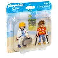 PLAYMOBIL DuoPack dokter en patiënt 70079