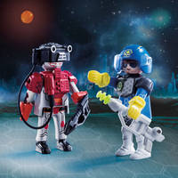 PLAYMOBIL 70080 SPACE POLICEMAN AND THIE