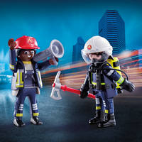 PLAYMOBIL 70081 RESCUE FIREFIGHTERS