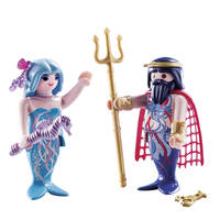 PLAYMOBIL 70082 KING OF THE SEA AND MERM
