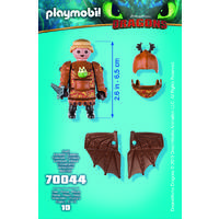 PLAYMOBIL 70044 FISHLEGS WITH FLIGHT SUI