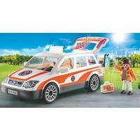 PLAYMOBIL 70050 EMERGENCY CAR WITH SIREN
