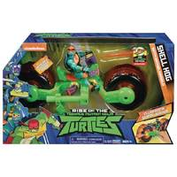 Rise of the Teenage Mutant Ninja Turtles deluxe voertuig met figuur Mikey
