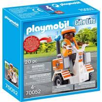PLAYMOBIL City Life ambulance scooter 70052
