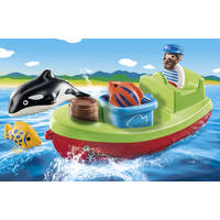 PLAYMOBIL FISHERMAN WITH BOAT 70183