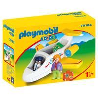 PLAYMOBIL 1.2.3 vliegtuig 70185