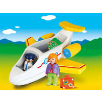 PLAYMOBIL AIRPLANE WITH PASSENGER 70185