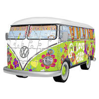 RAVENSBURGER VW BUS HIPPIE STYLE 162P