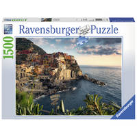 Ravensburger puzzel Uitzicht op Cinque Terre - 1500 stukjes