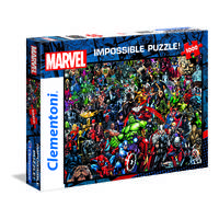 Clementoni puzzel Marvel impossible - 1000 stukjes