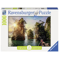 Ravensburger puzzel Three rocks in Cheow Thailand - 1000 stukjes