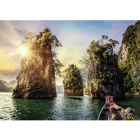 RAVENSBURGER THREE ROCKS THAILAND 1000P