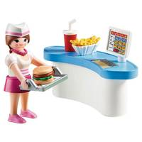 DINER WAITRESS WITH COUNTER