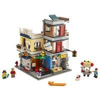 LEGO CREATOR 31097 HUIS DIERENWINKELCAFÉ