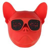 Wonky Monkey Bulldog draadloze speaker - rood