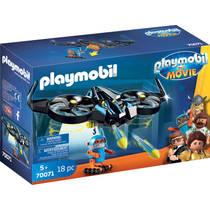 PLAYMOBIL THE MOVIE Robotitron met drone 70071