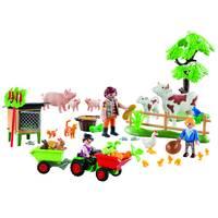 PLAYMOBIL Christmas boerderij adventskalender 70189