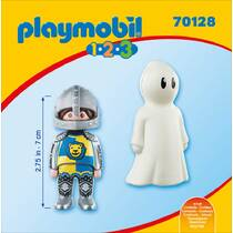 PLAYMOBIL 1.2.3 70128 RIDDER EN SPOOK