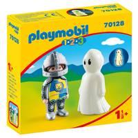 PLAYMOBIL 1.2.3 ridder en spook 70128