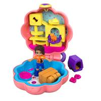 Polly Pocket Tiny Pocket Places Shani en kat