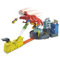 HW CITY T-REX RAVAGE SPEELSET