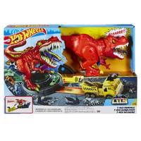 Hot Wheels City T-Rex aanval speelset