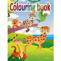 COLOURING BOOK 14 X 19