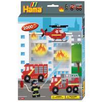 Hama Strijkkralen brandweer 2000-delig