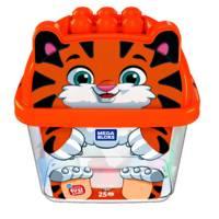 Mega Bloks blokkenset tijger 25-delig