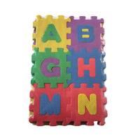 Letter foam puzzel