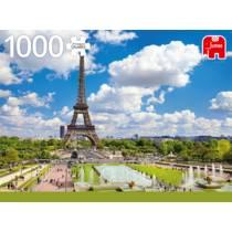 Jumbo puzzel Eiffeltoren in de zomer Parijs - 1000 stukjes