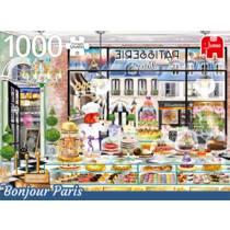Jumbo puzzel Wanderlust collectie Bonjour Paris - 1000 stukjes