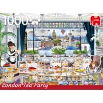 Jumbo puzzel Wanderlust collectie London Tea Party - 1000 stukjes
