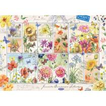 PC FLOWER STAMPS, SUMMER FLOWERS, JANNEK