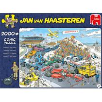 Jumbo Jan van Haasteren puzzel Formule 1 De start - 2000 stukjes