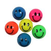 Smiley stuiterballen set van 6
