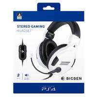 BIGBEN PS4 GAMING HEADSET - WIT