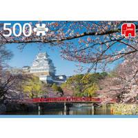 Jumbo puzzel Hemeji kasteel Japan - 500 stukjes
