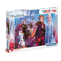 Clementoni Disney Frozen 2 puzzel - 104 stukjes