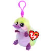 Ty Beanie Boo clip sleutelhanger Petunia