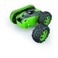 Wonky Cars op afstand bestuurbare auto Caterpillar - groen